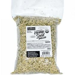 ORGANIC SHELLED HEMPSEED (BAG)  3 LB