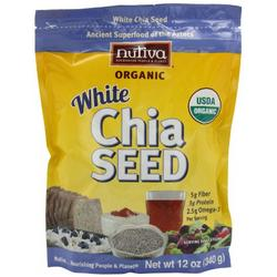 WHITE CHIA SEEDS  12 OZ