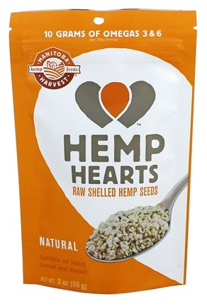 HEMP HEARTS (RAW SHELLED)  2 OZ
