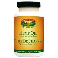 HEMP SEED OIL,CAP,1000MG 60 CAP