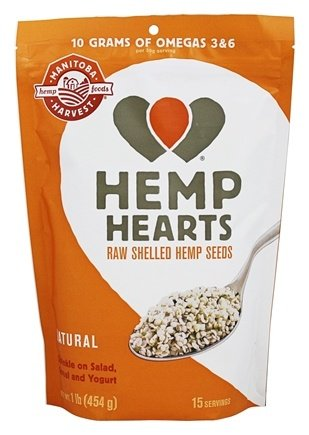 HEMP HEARTS (RAW SHELLED)  16 OZ