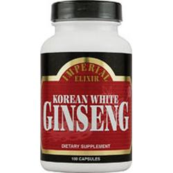 Korean White Ginseng  100 膠囊