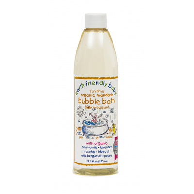 ORGANIC MANDARIN BUBBLE BATH  12.5 OZ