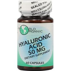 HYALURONIC ACID 50MG  60 CAP