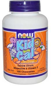 KID CAL 100 CHEWABLES
