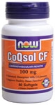 CoQsol CF 100 mg - 60 Softgels