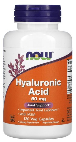 HYALURONIC ACID WITH LIGNIS MSM - 120 VCAPS