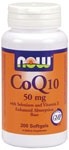 CoQ10 50 mg + Selenium - 200 Softgels