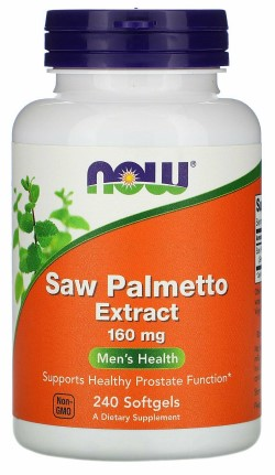 Saw Palmetto Extract 160 mg - 240 Gels