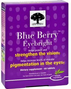 BLUE BERRY EYEBRIGHT TO STRENGTHEN THE VISION  60 TAB