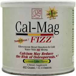 CAL-MAG FIZZ LEMON LIME  492 GM