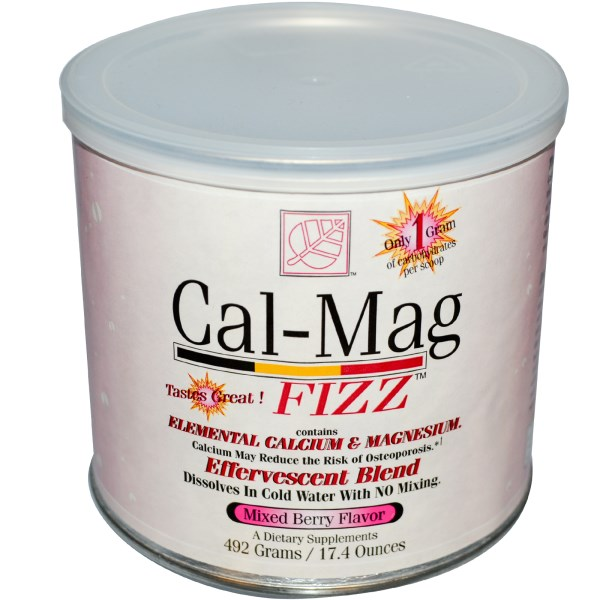 CAL-MAG FIZZ MIXED BERRY  492 GM