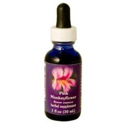 Pink Monkeyflower Dropper  1 oz
