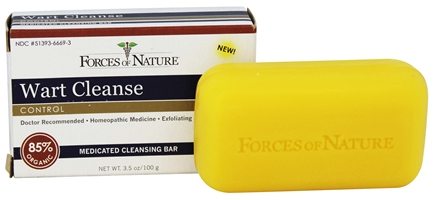 BAR SOAP WART CLEANSE  3.5 OZ