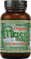 ORGANIC MACA EXPRESS ENERGY 60 VEGICAPS