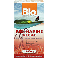 RED MARINE ALGAE  60 CAP VEGI