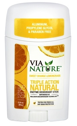 DEODORANT STICK LEMONGRASS & SWEET ORANGE  2.25 OZ