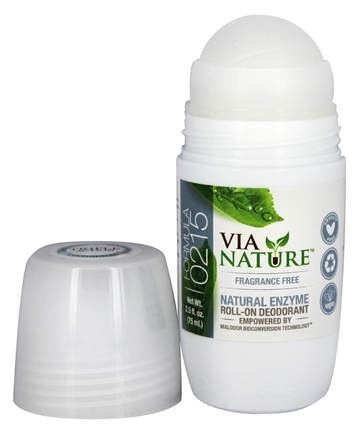 DEODORANT ROLL ON FRAGRANCE FREE  2.5 OZ