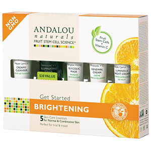 GET STARTED BRIGHTENING KIT  5 PC